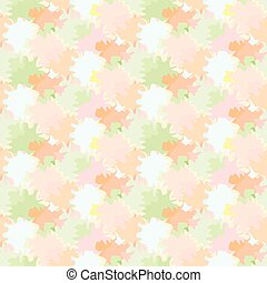 Vector seamless background with repetitive colored spots