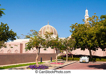 Grand mosque of Sultan Qaboos, Muscat, Oman
