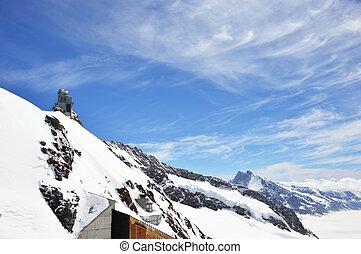 Jungfrau mountain - Jungfrau, mountain Switzerland