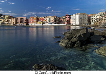 Baia del Silenzio in Sestri Levante - Wonderful view of the...