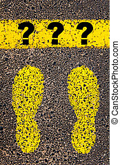 Question marks . Conceptual image - Question marks....