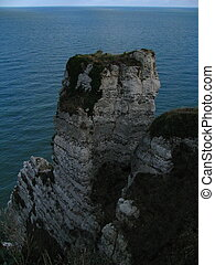 Etretat, Falaise d'Aval - Normandy, view from the Falaise...