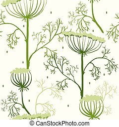 Elegance Seamless pattern with flowers