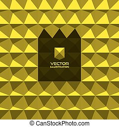 Abstract 3d geometric background 3D vector interior wall...
