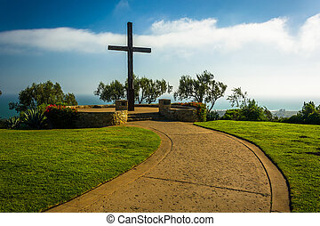 Father Serra Cross, at Grant Park, in Ventura, California.