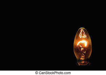 Idea ignited suddenly incandescent - Idea ignited suddenly...