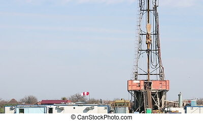 land oil drilling rig