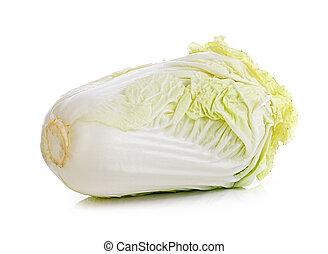 lettuce on white background