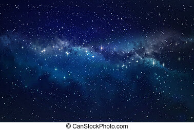 Deep space - High definition star field background