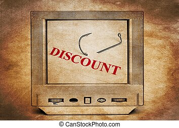 Discount on TV