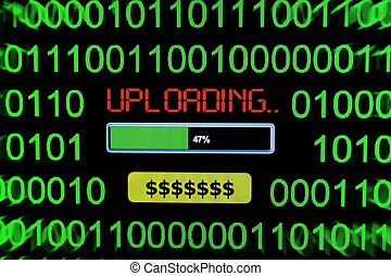 Upload dollars