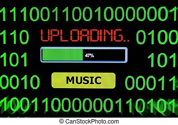 Upload music