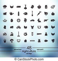 Conjunto, Agricultura, iconos