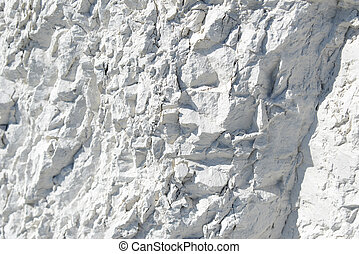 Natural chalk mineral, whole background, close up