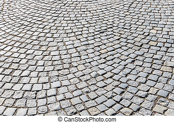 pavers in pedestrian symbol for road construction,...