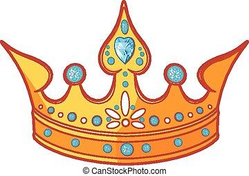 Princess tiara - Beautiful shiny princess tiara