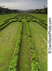 Eduardo VII Park - Panorama of the Eduardo VII Park in...