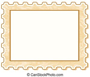 Postage stamp icon for various design