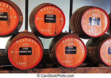 Storage of expensive vintage wine Madeira - FUNCHAL, MADEIRA...
