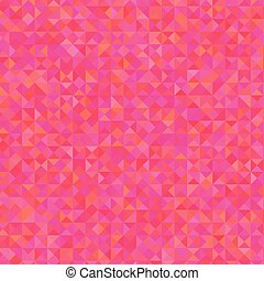 Pink Background - Pink Polygonal Background Useful for Your...