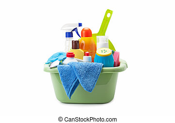 cleaning supplies - detergents and cleaning products...