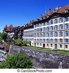 old town of Bern, the Swiss capital and Unesco World Heritage ci
