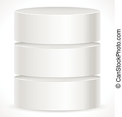 Metal Cylinder Webhosting, Server, Mainframe Computer...