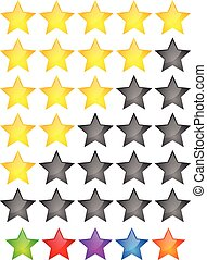 Star Rating Element Star rating system for feedback, value,...
