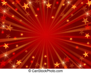 Cristhmas background radiate - red christmas background with...