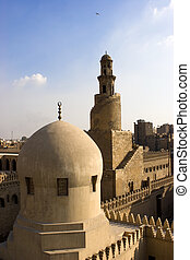 tulun, minarete,  ibn