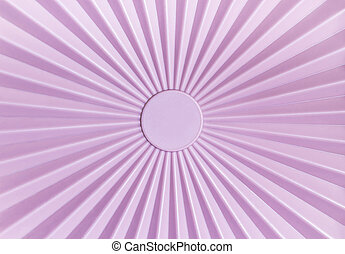 Pattern of pink plastic tupperware - Rays pattern of pink...