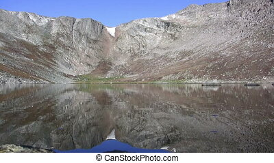 Seamless Loop Lazy Reflection - The lazy reflection of lake...