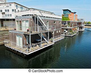 Houseboats Malmo Sweden