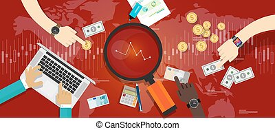 market down stock bearish illustration vector recesion...