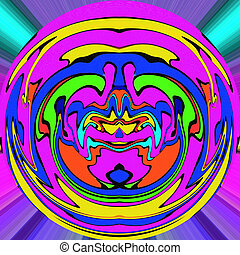 Colorful abstract background. Artwork for creative design, art a