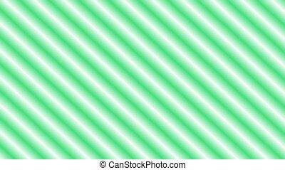 moving green colored lines