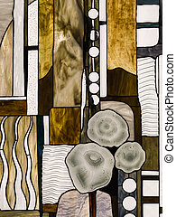 abstract stained glass Tiffany - beautiful stained glass in...