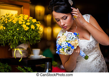 Stylish Bride sexy - Stylish Autumn wedding a beautiful...