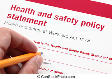 Health and safety policy statement. - Health and safety...