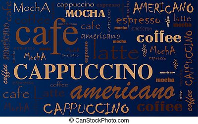 Coffee background - Coffee Background Different Blends and...
