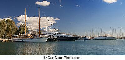 skeppsdocka, gammal, båt