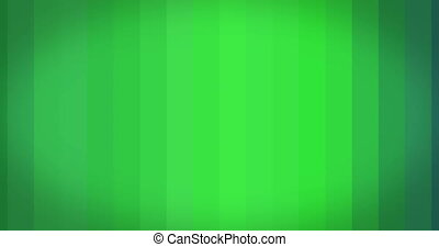 Abstract background green flickering lines