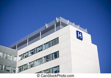 moderno, hospital