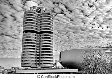 MUNICH - GERMANYOCTOBER 31: BMW building museum on June 31,...