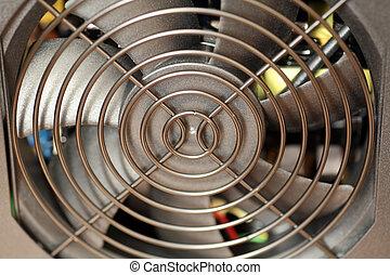 Fan of power supply unit