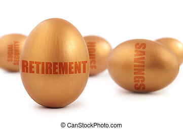 Retirement nest egg - Gold retirement nest egg as well as...