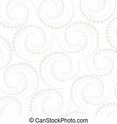 Abstract geometric pattern dots around Repeating background...