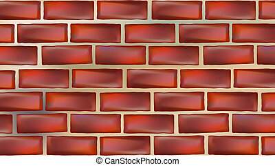wall background - illustration drawing of beautiful red wall...