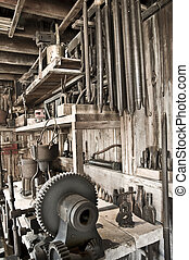 Tool shed workshop