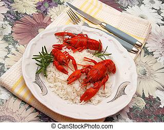 Crayfish meal
